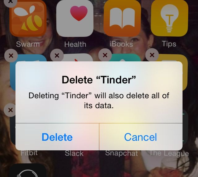 Hookup tonight app delete