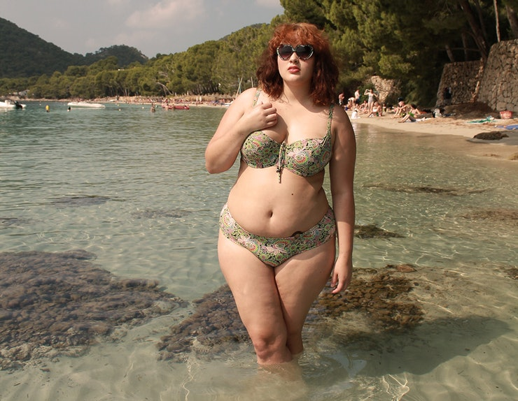 I Am A Plus-Size Woman Who Wore A Low-Rise Bikini To The ...