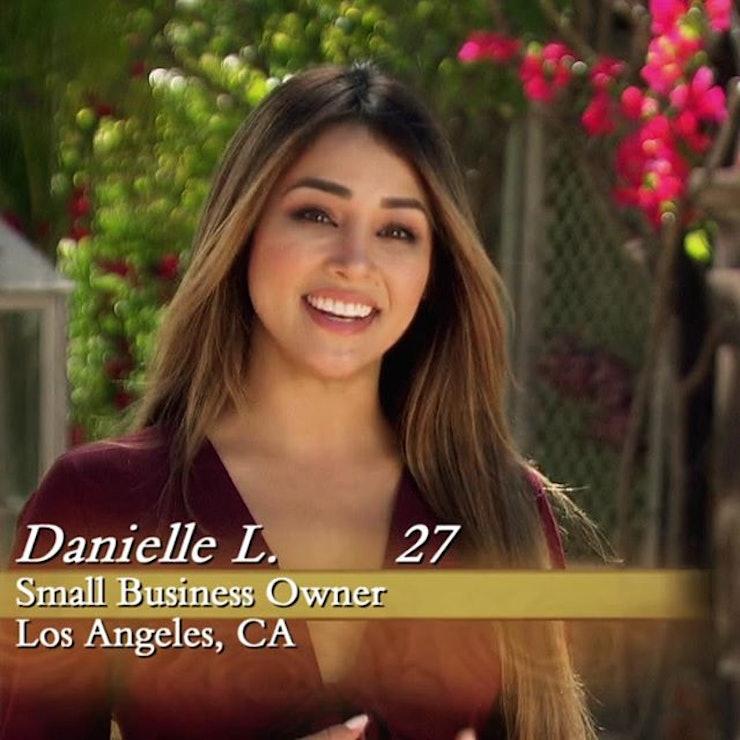 Danielle the bachelor