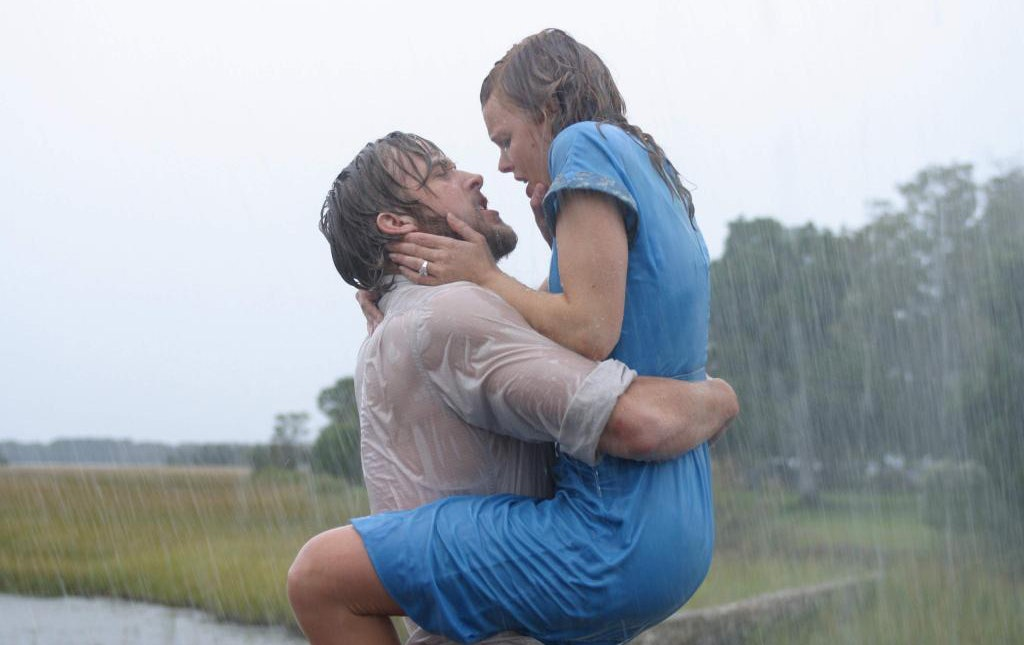 Image result for kissing scene the notebook
