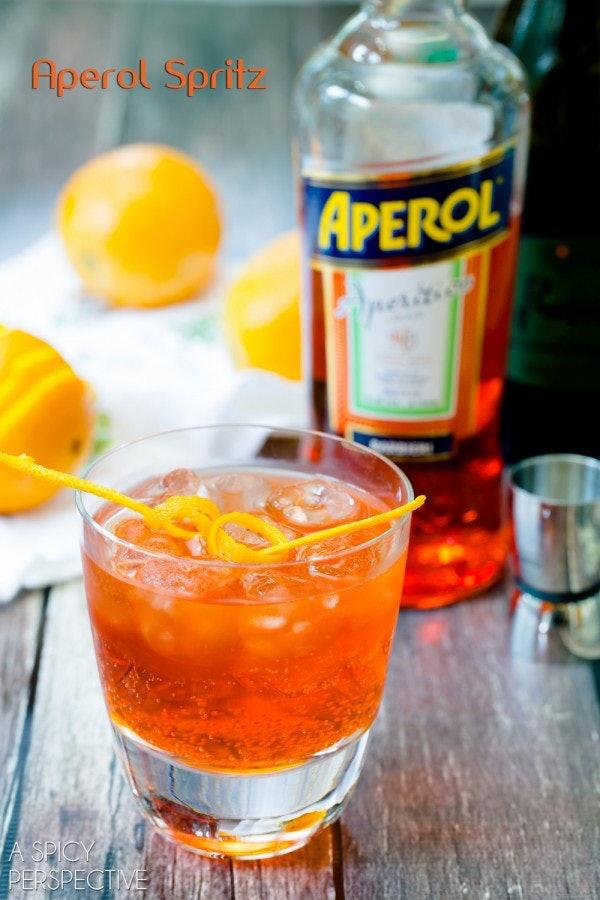 13 blue orange drinks for broncos fans to sip on super for Orange and blue cocktails