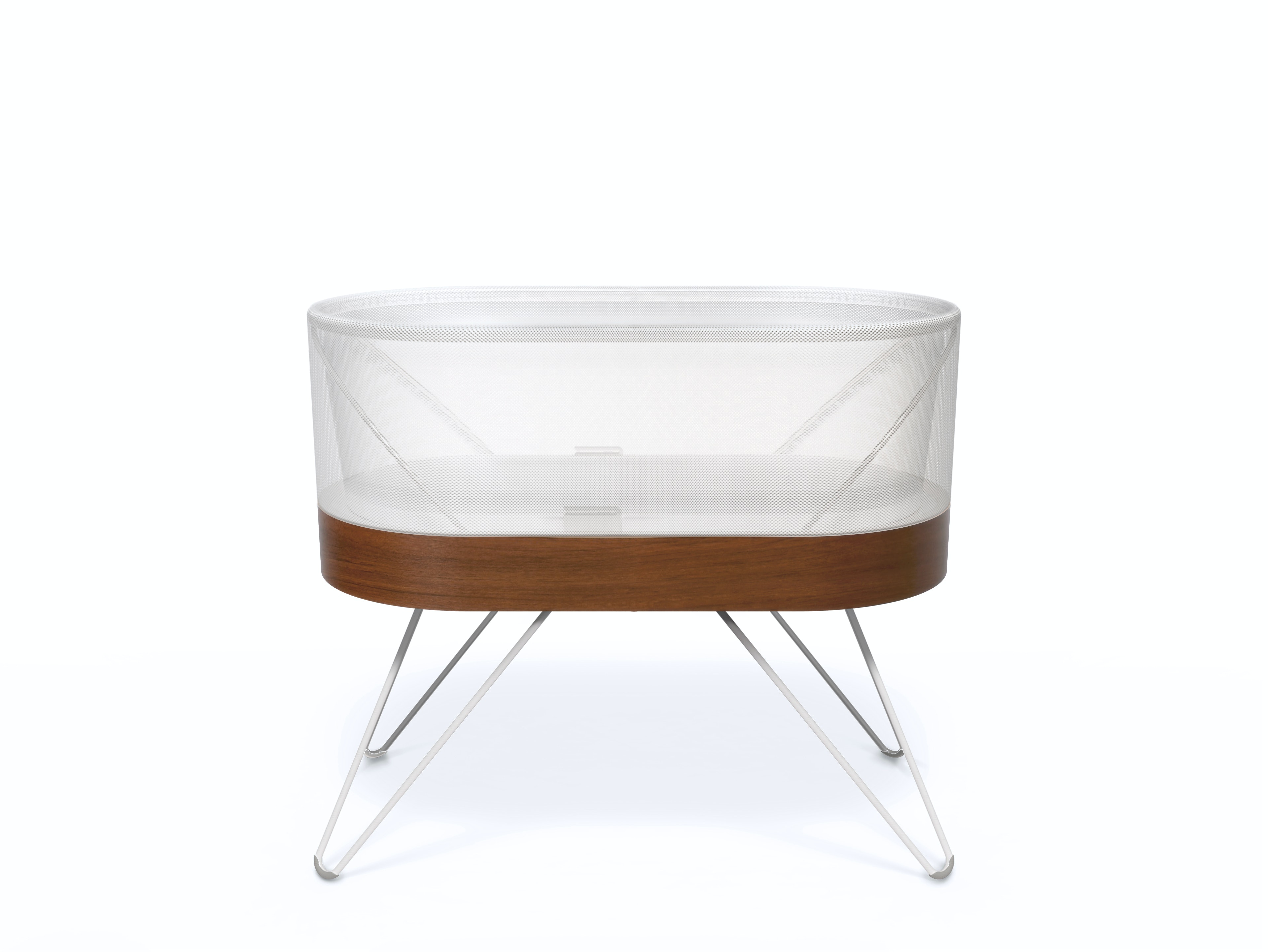 This $1150 crib automatically calms crying babies back to sleep in minutes