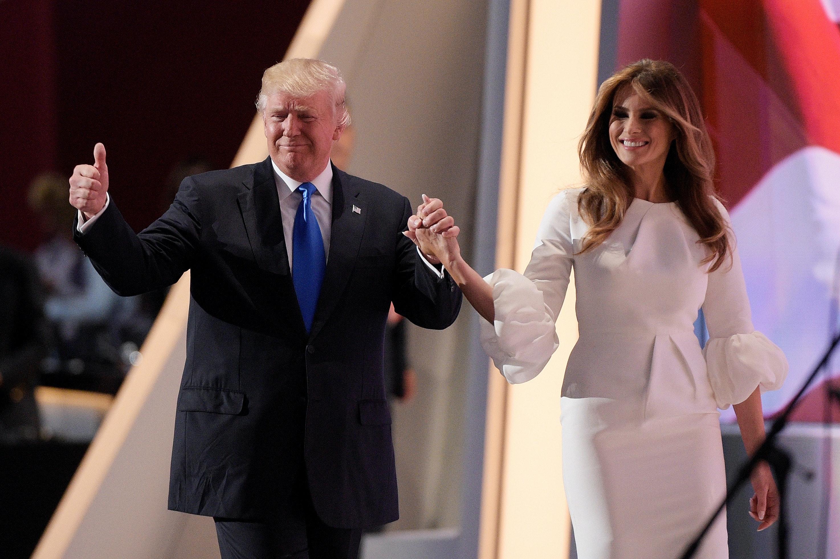 Melania Trump: My husband and I are