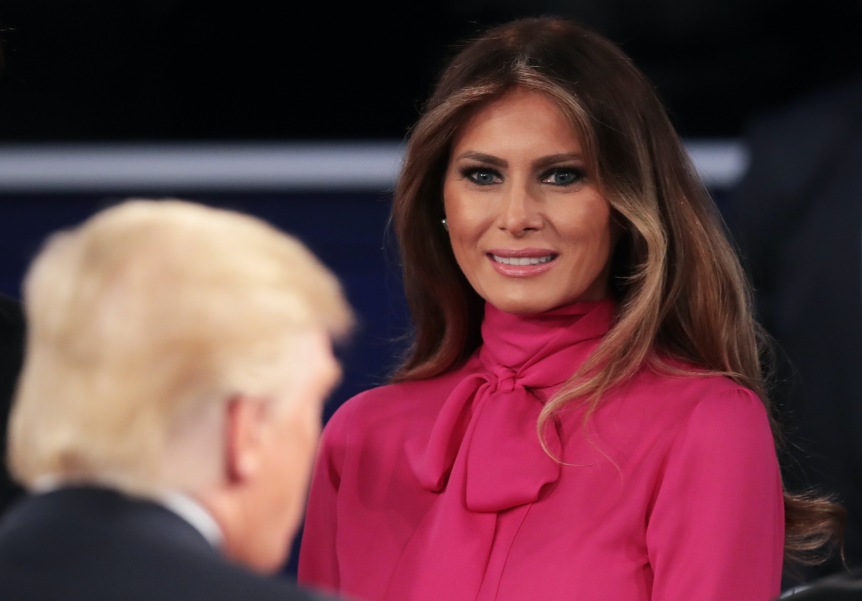 Please Enjoy Melania Trump Explaining Away Donald's Pussy Comments