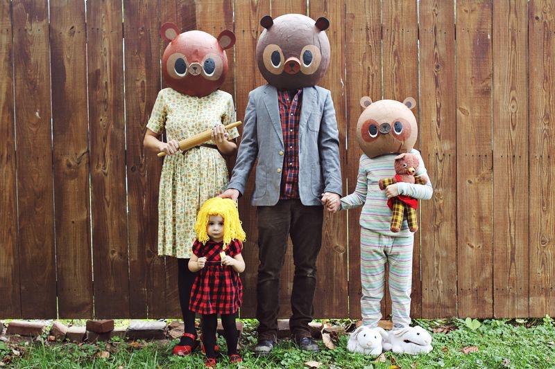 7 cheap family halloween costume ideas - Goldilocks Halloween Costumes