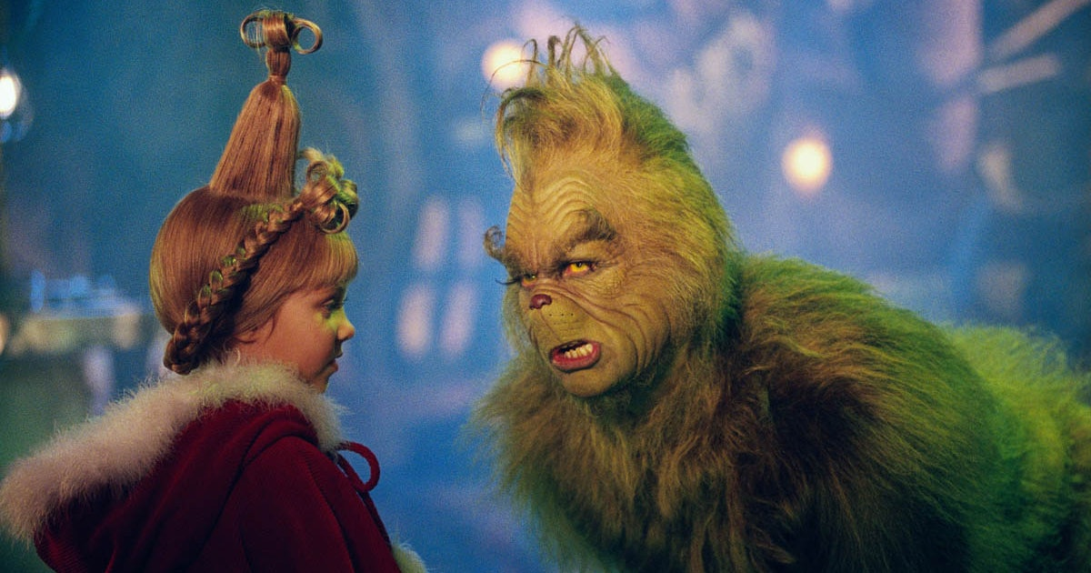 Image result for how the grinch stole christmas animated live action