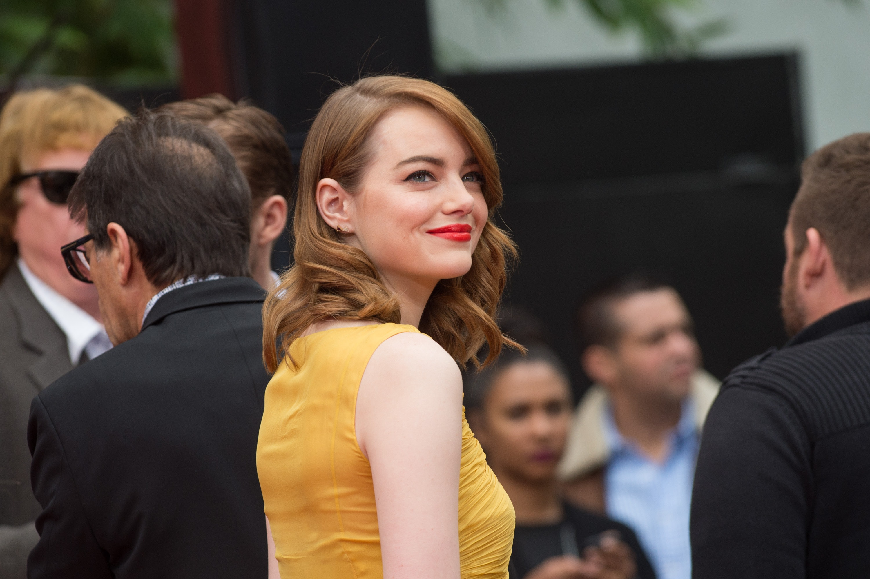 Emma Stone Says Her Improvised Jokes Were Given To Her Male Co-Stars