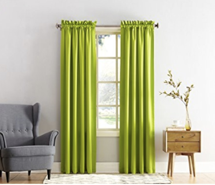 10 pantone greenery products for those who love the 2017 for B q living room curtains