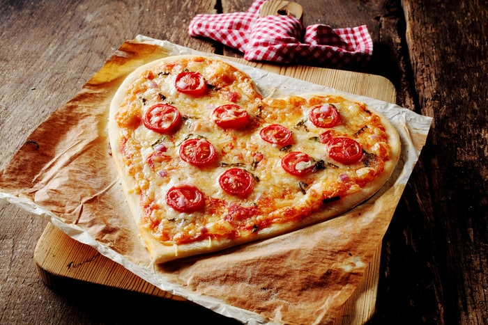 where to get a heart shaped pizza this valentine's day, because, Ideas