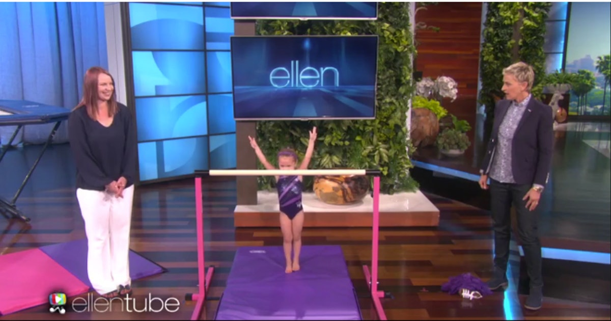 The 3-Year-Old Gymnast On 'Ellen' Is Both Incredibly Cute ...