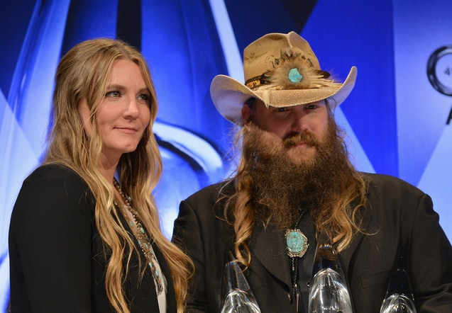 Who did chris stapleton bring to the acm awards morgane for How many kids does chris stapleton have