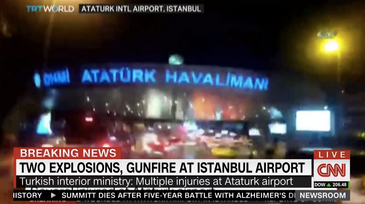 Attack On Istanbul's International Airport Kills At Least 10 People