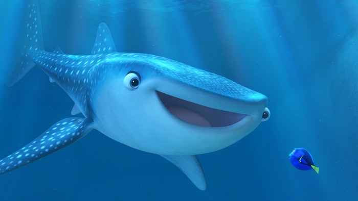 What is a whale shark the 39 finding dory 39 character is the for 13 fishing a3