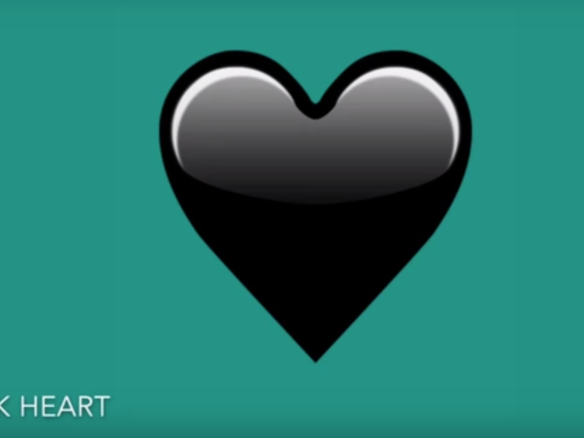What does the new black heart emoji mean it lets the deepest what does the new black heart emoji mean it lets the deepest depths of your soul shine biocorpaavc