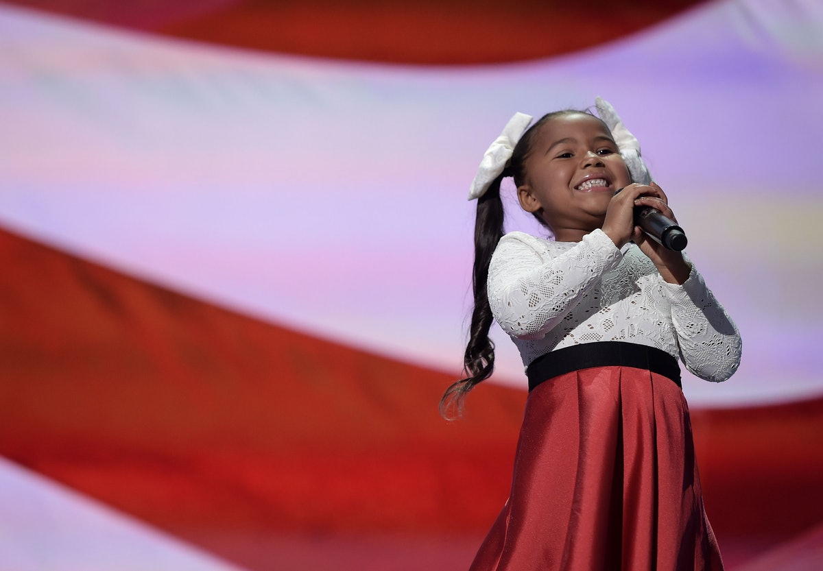 Who Is Heavenly Joy The Rnc Singer Is Adorable Amp Has Some
