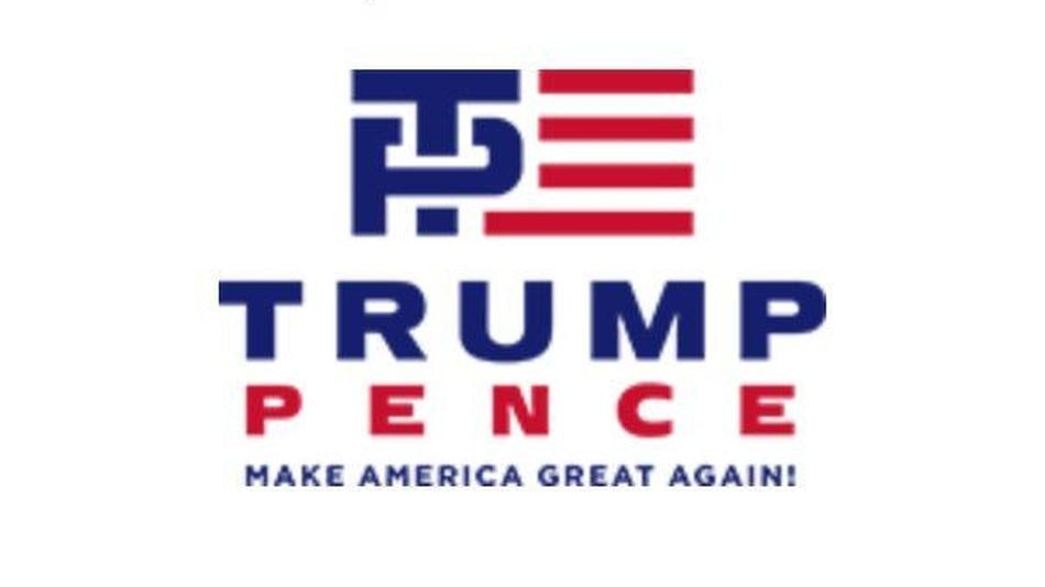 The Jewish Twittersphere Saw That Trump-Pence Logo - and Said 'Oy Vey'