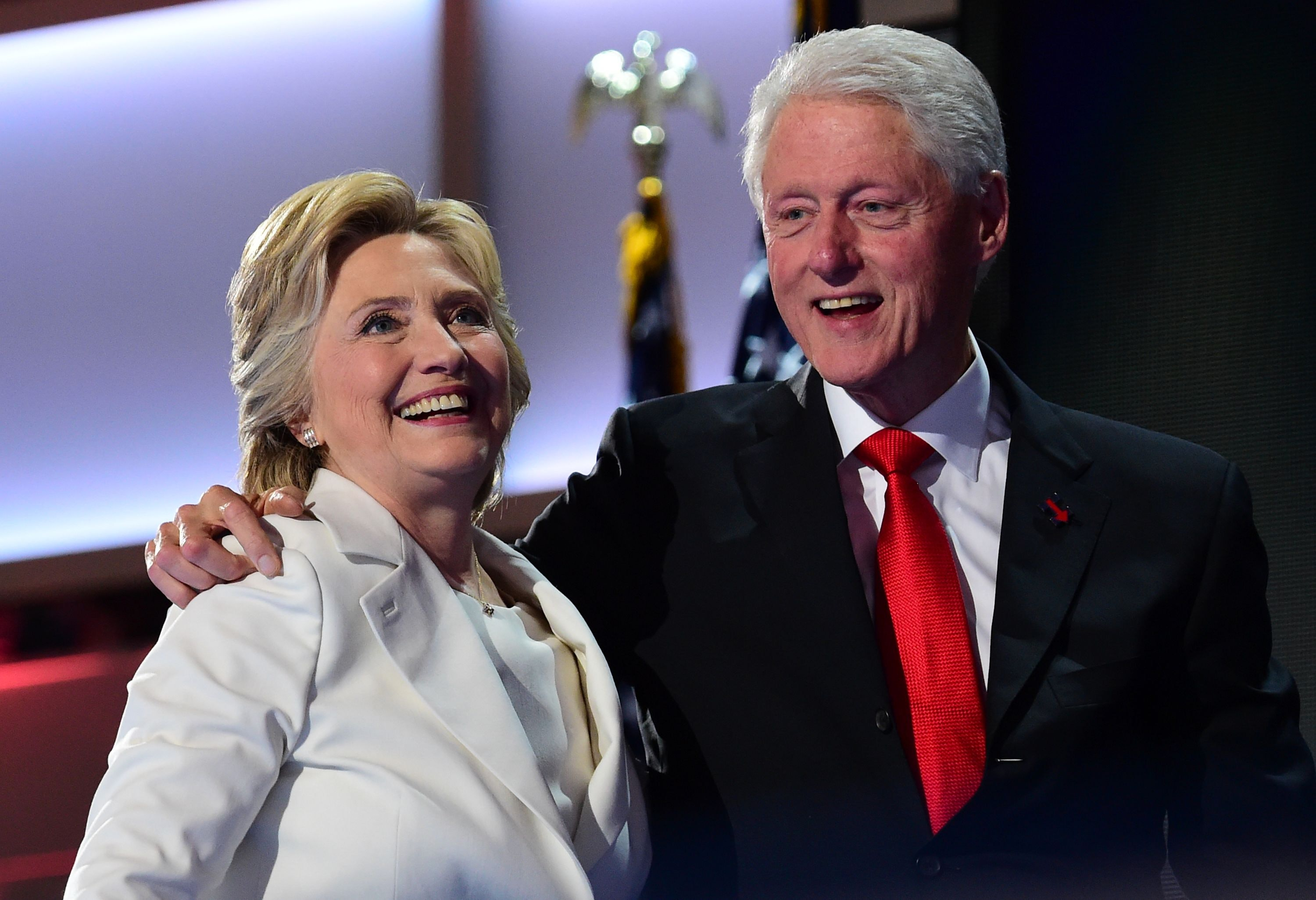 Bill Clinton to Las Vegas: Wife is Doing Great
