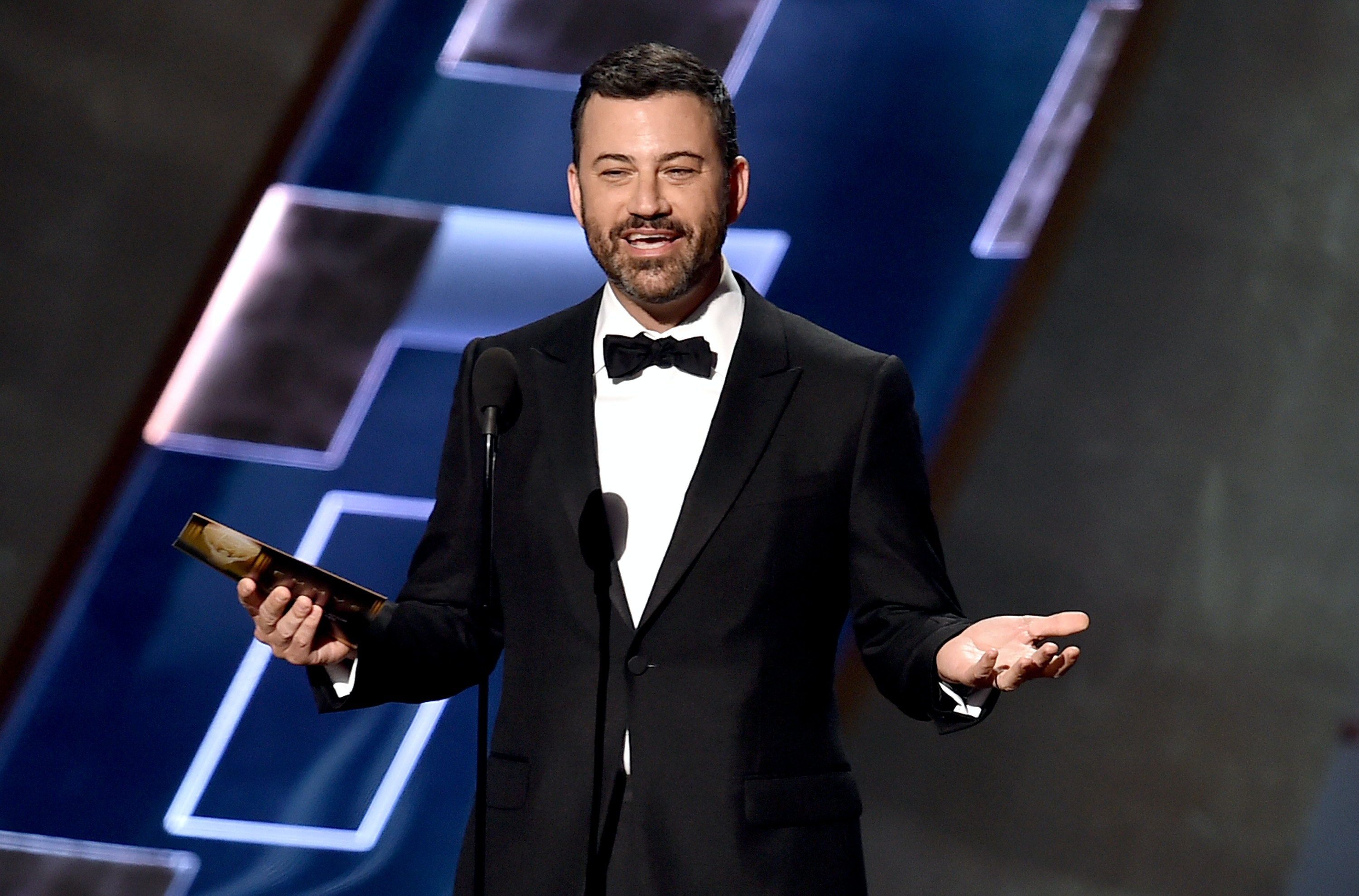 The 7 Funniest Jokes From Jimmy Kimmel's Emmys 2016 Monologue