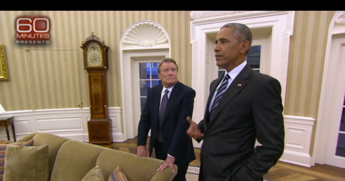 Obama Reveals His Post White House Plans To 60 Minutes