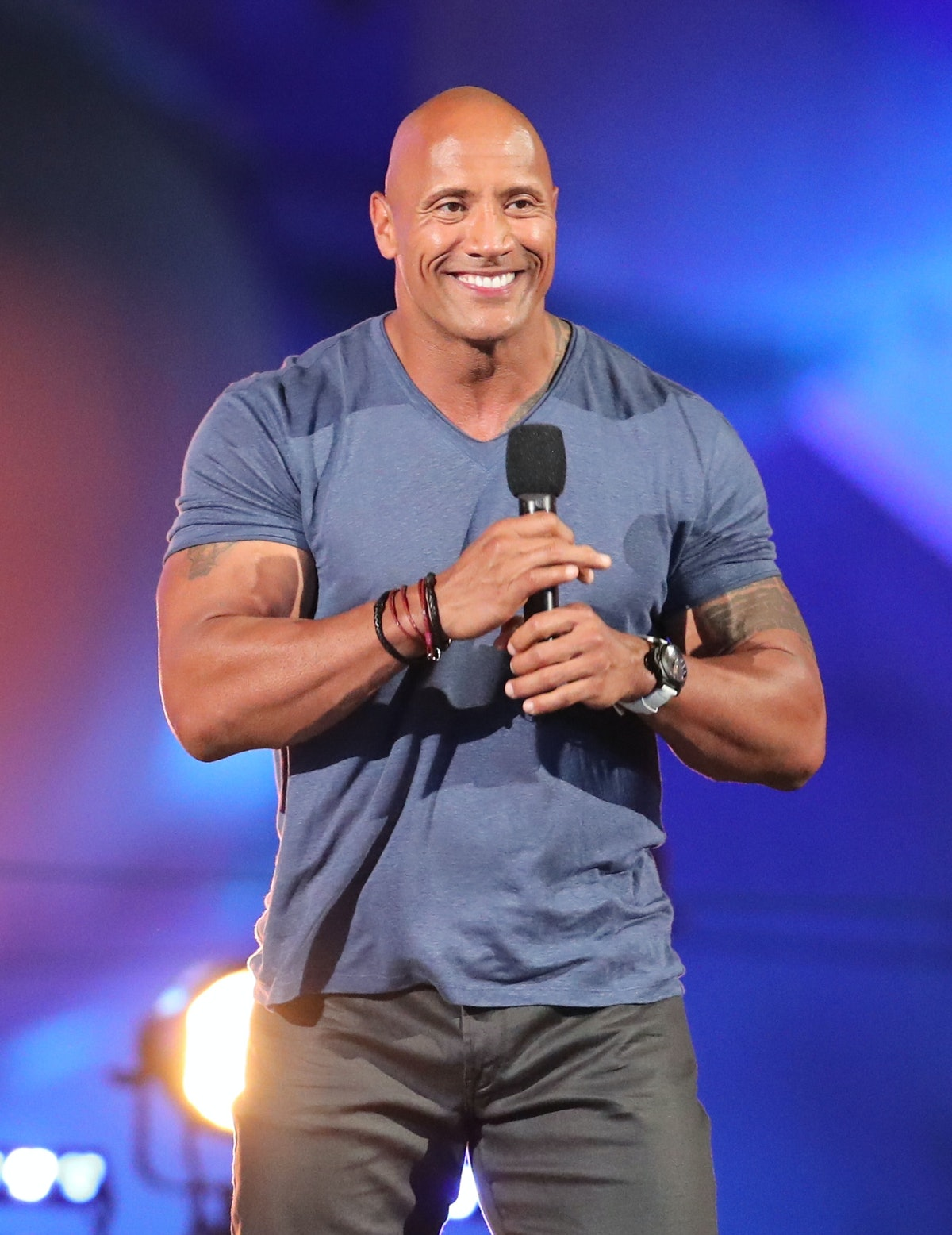 What Did Dwayne Johnson Say During His People's Choice Awards Speech? Part Of It Was Bleeped Out