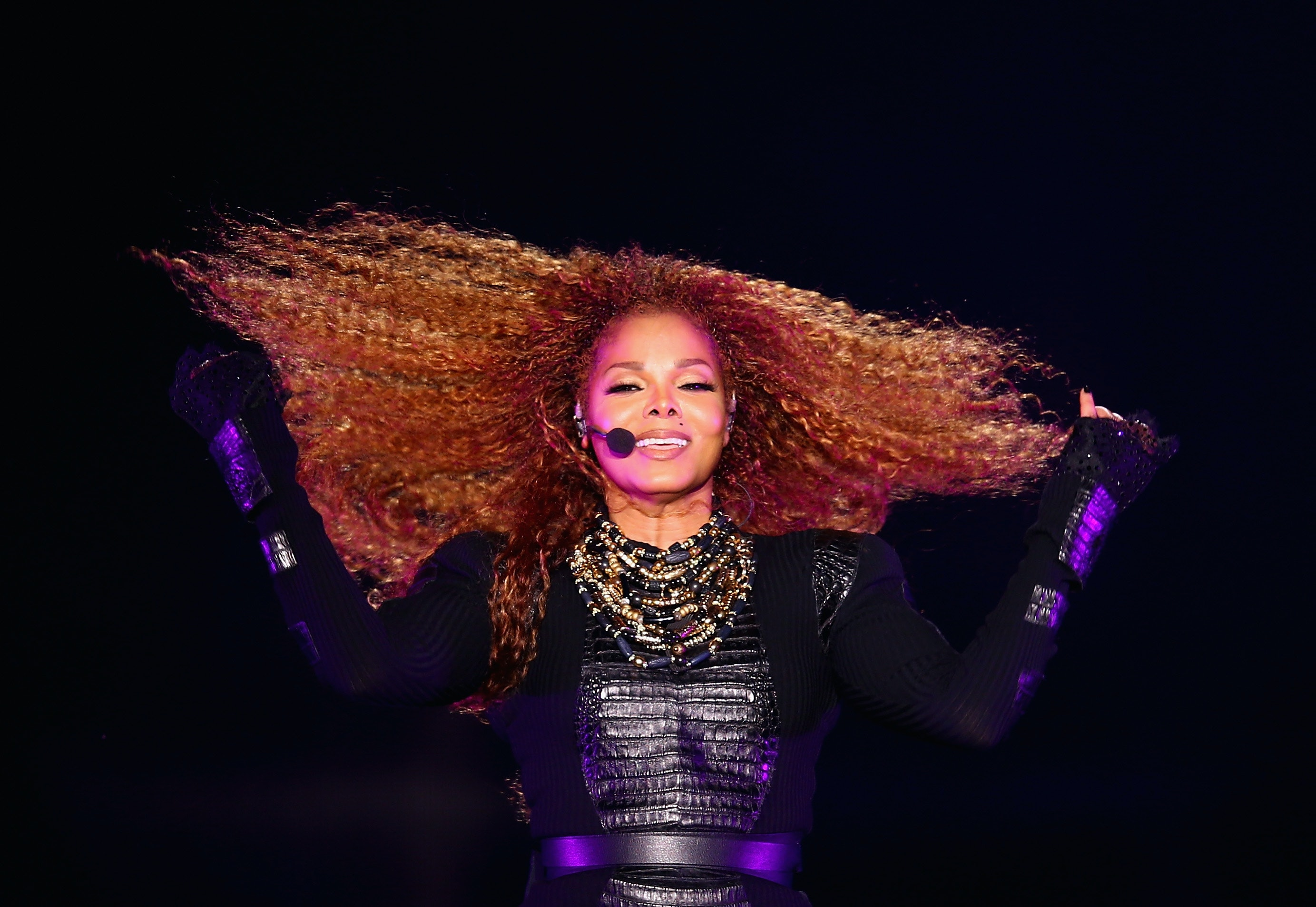 Janet Jackson gives birth to son at 50