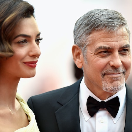 Amal george clooney reveal their babies 39 genders remind us there 39 s still good in the world - Images remind us s ...