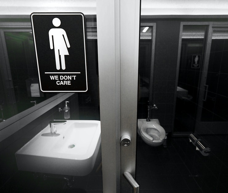 Trans bathroom rights
