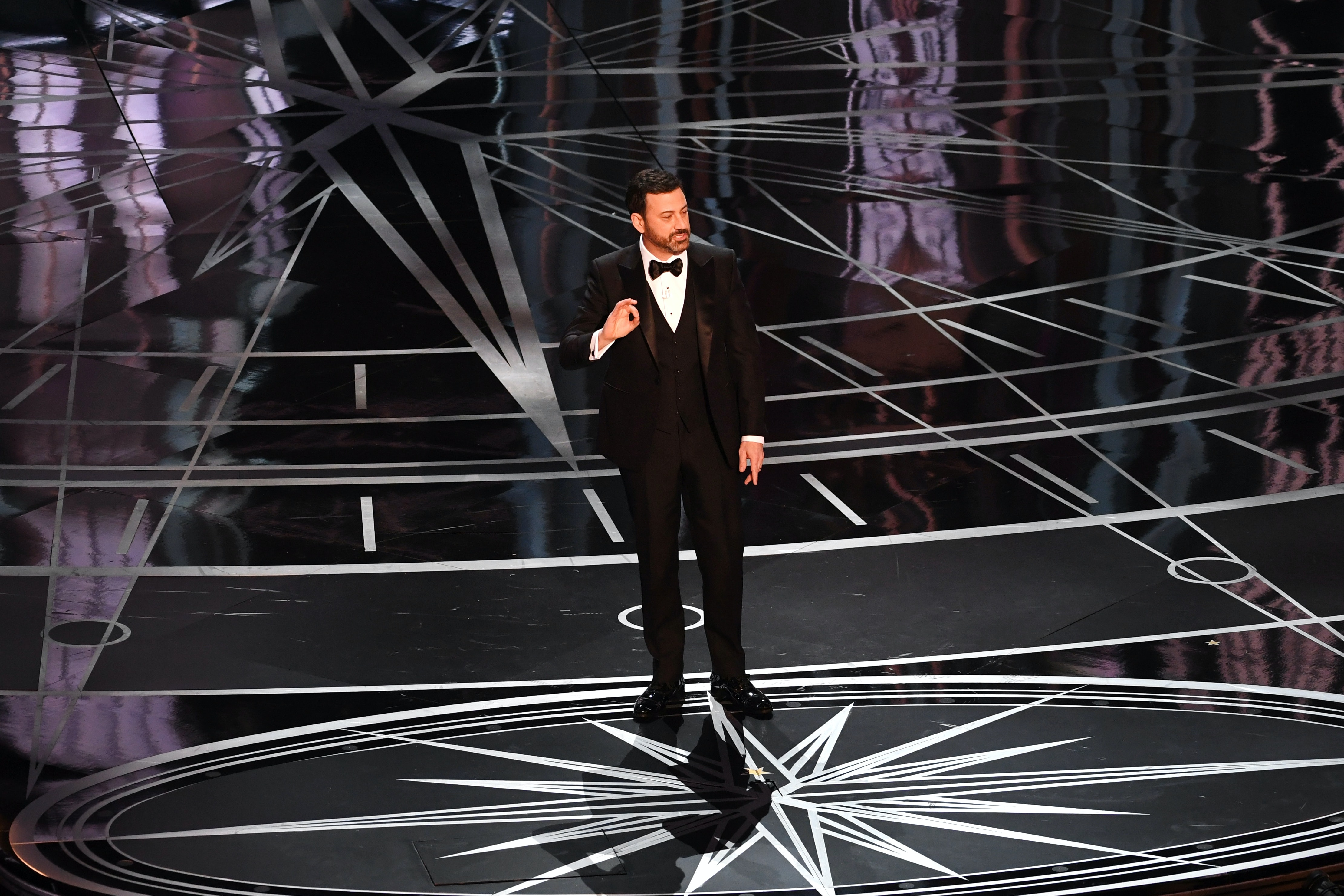 Jimmy Kimmel Roasts Matt Damon at the Oscars
