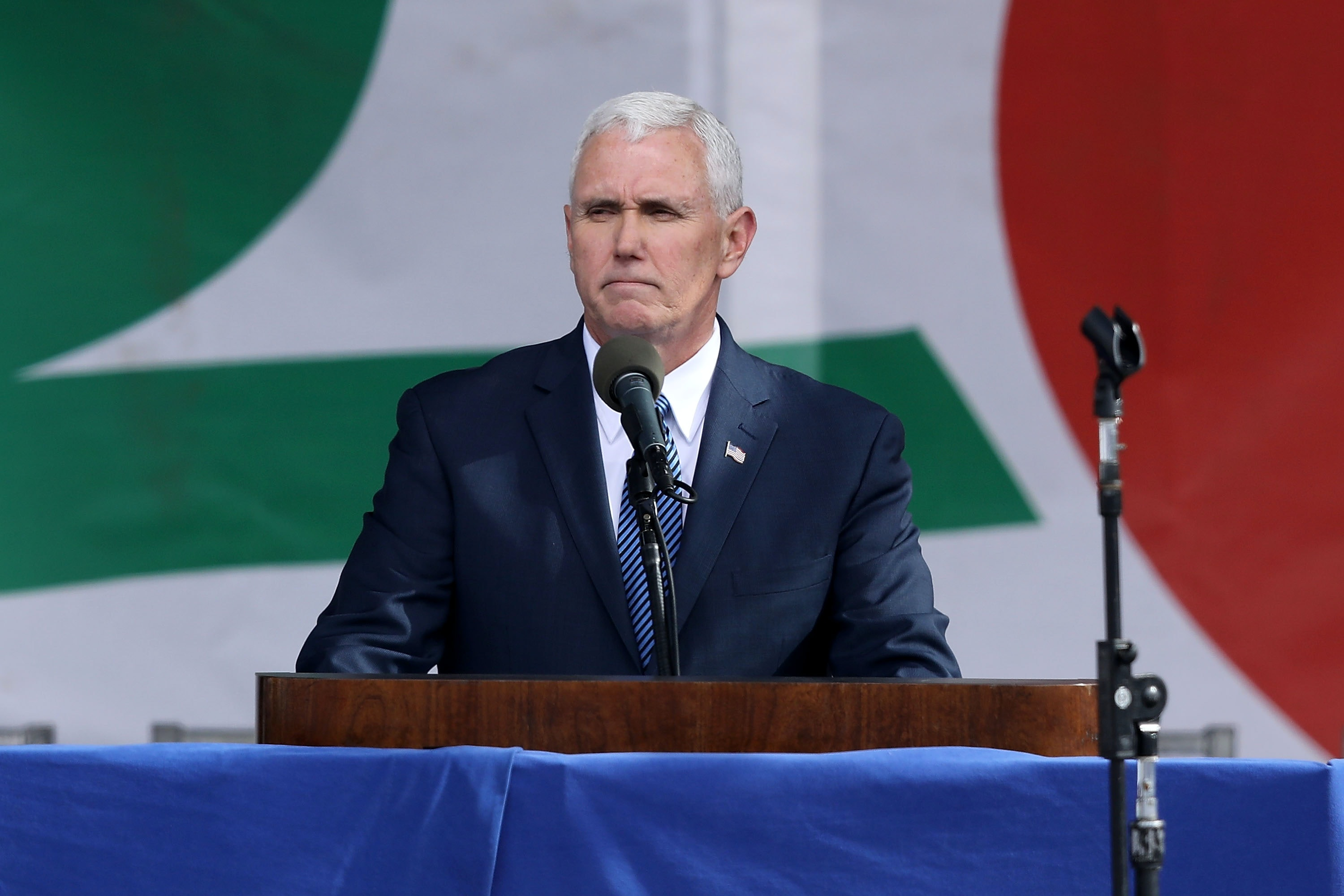 Pence Says Federal Judge 'Certainly' Has Authority To Halt Immigration Order