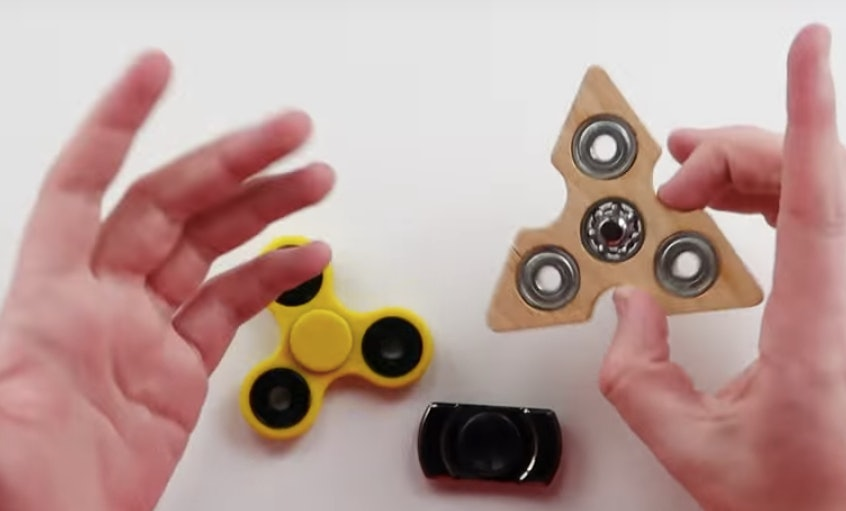 Fidget spinners: the latest craze sweeping schools and offices