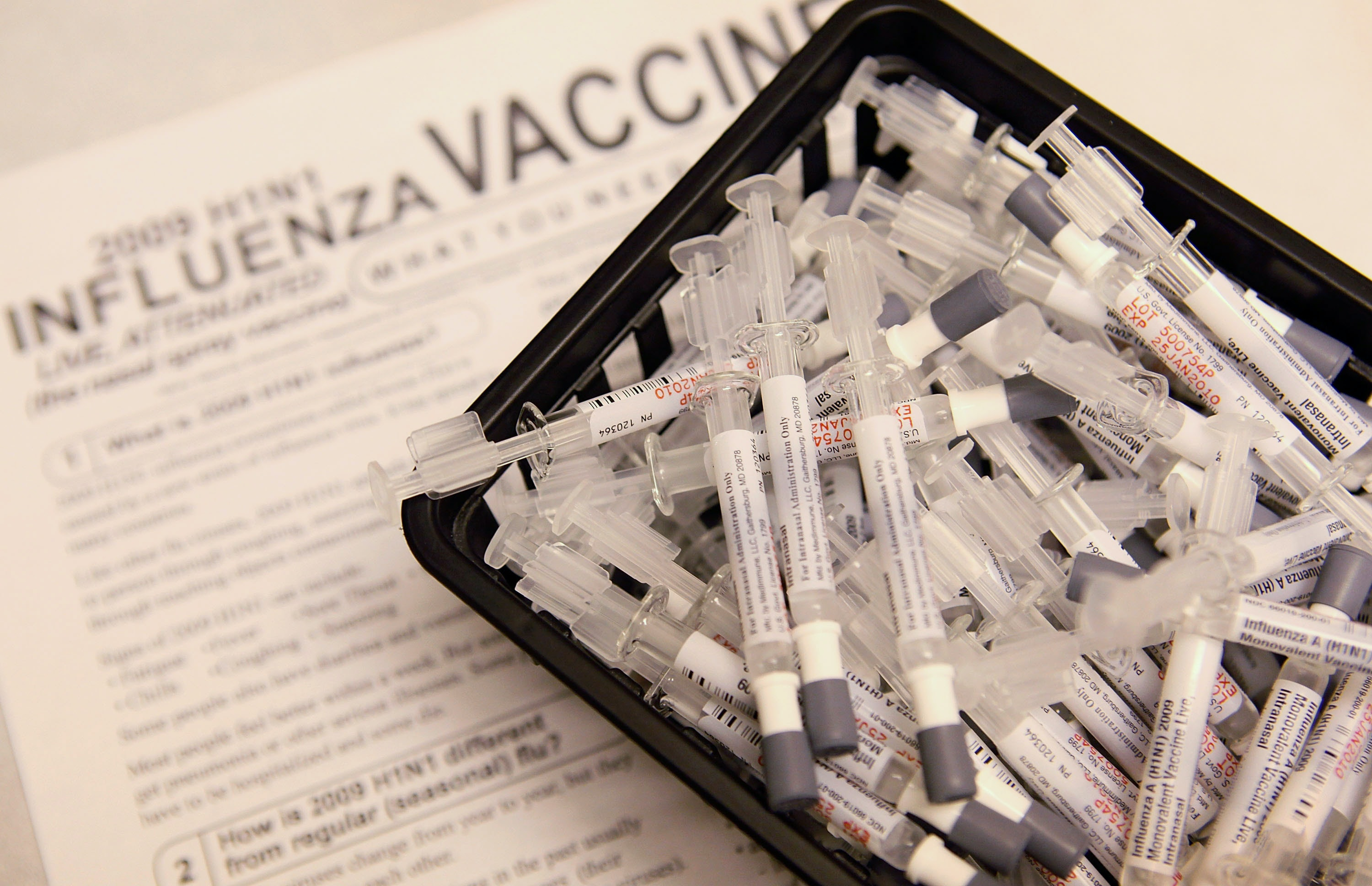 Flu Death Stats Underscore Importance of Getting Vaccinated