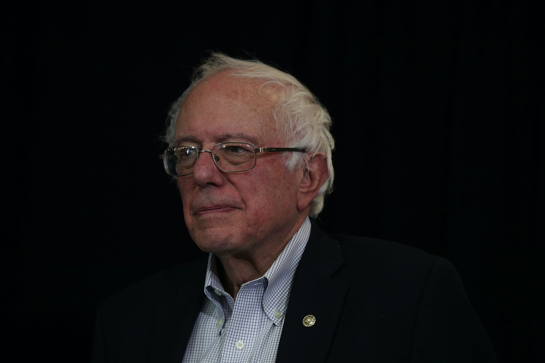 Bernie Sanders heaps praise on Donald Trump