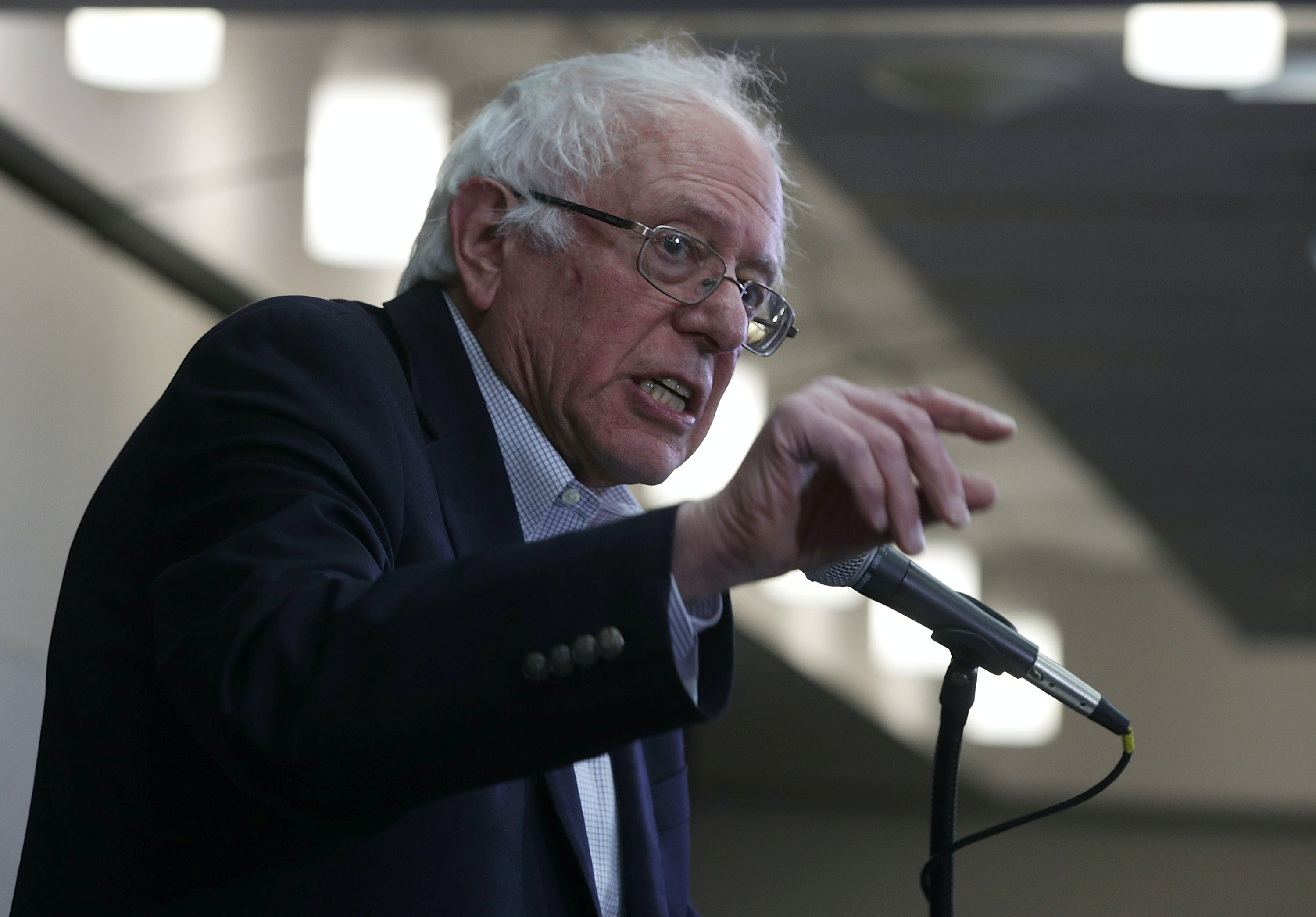 Bernie Sanders To Democrats: Challenge Trump, But Don't Obstruct Him