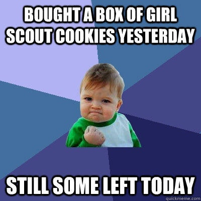 looking for a call girl scout cookies