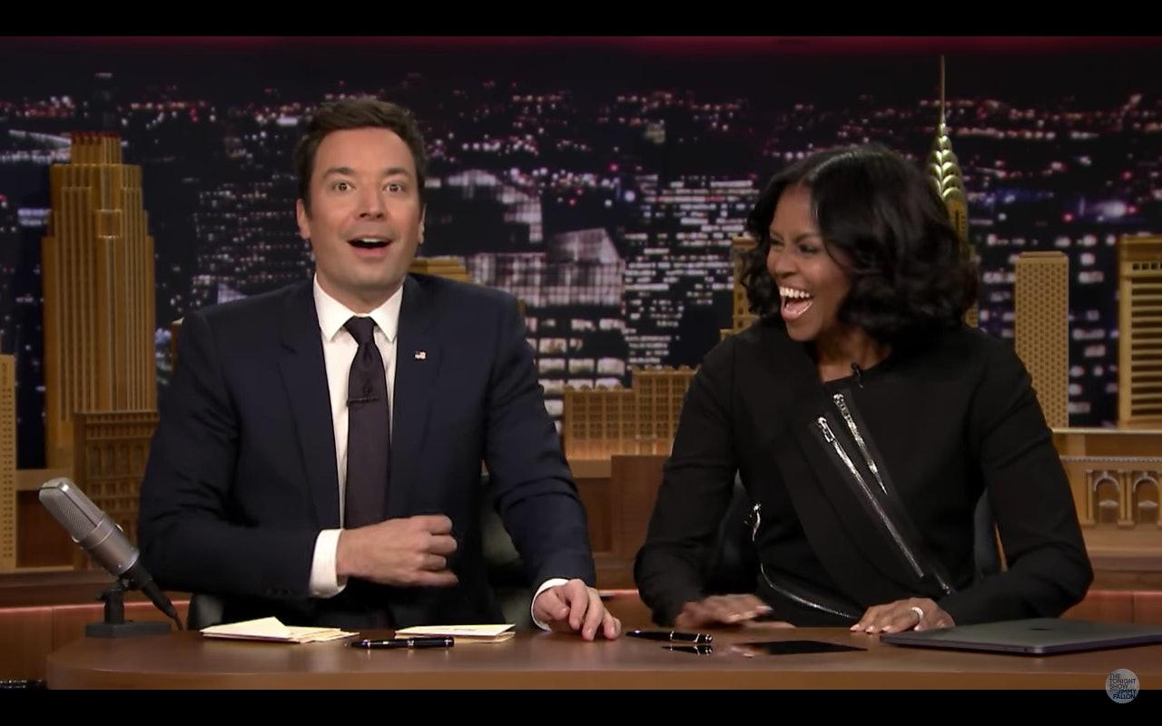 Michelle Obama writes hilarious 'thank you notes' on Fallon