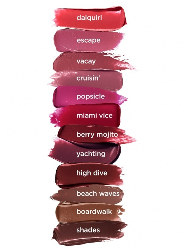 Swatches Of Tarte S Color Splash Hydrating Lipstick Proves