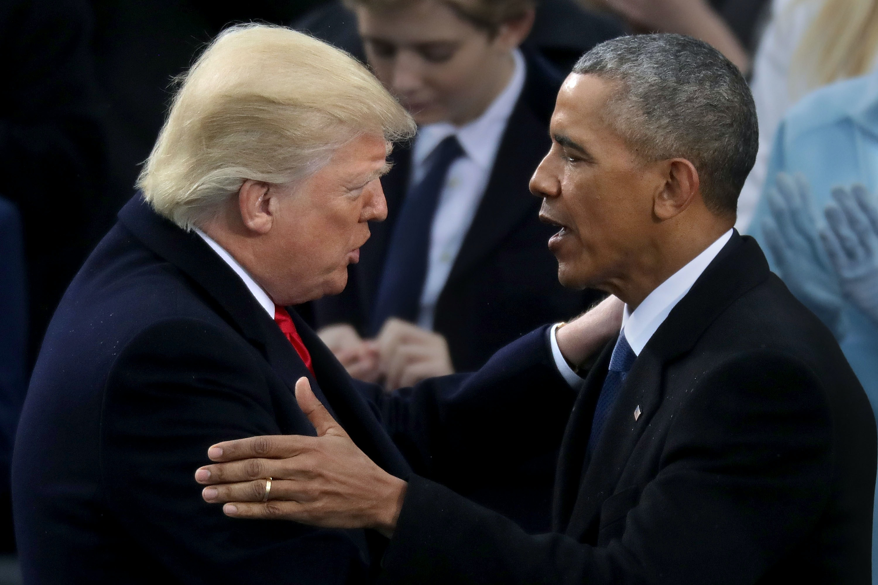 Obama Says The Darndest Things To Trump In Latest 'Bad Lip Reading'