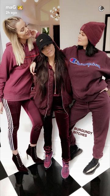Where To Buy Kylie Jenner S Burgundy Champion Sweatshirt