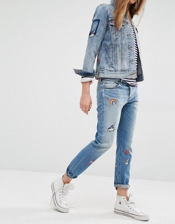 9 Embroidered Jeans For Spring 2017 That You Need In Your Closet ASAP