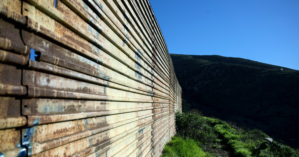 How Long Is The Border Wall Already Current Barriers Took