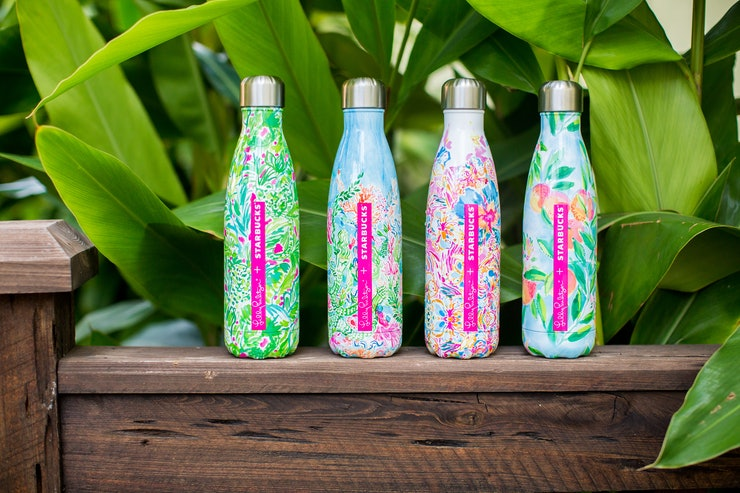 Where To Buy The Lilly Pulitzer X Starbucks Bottles