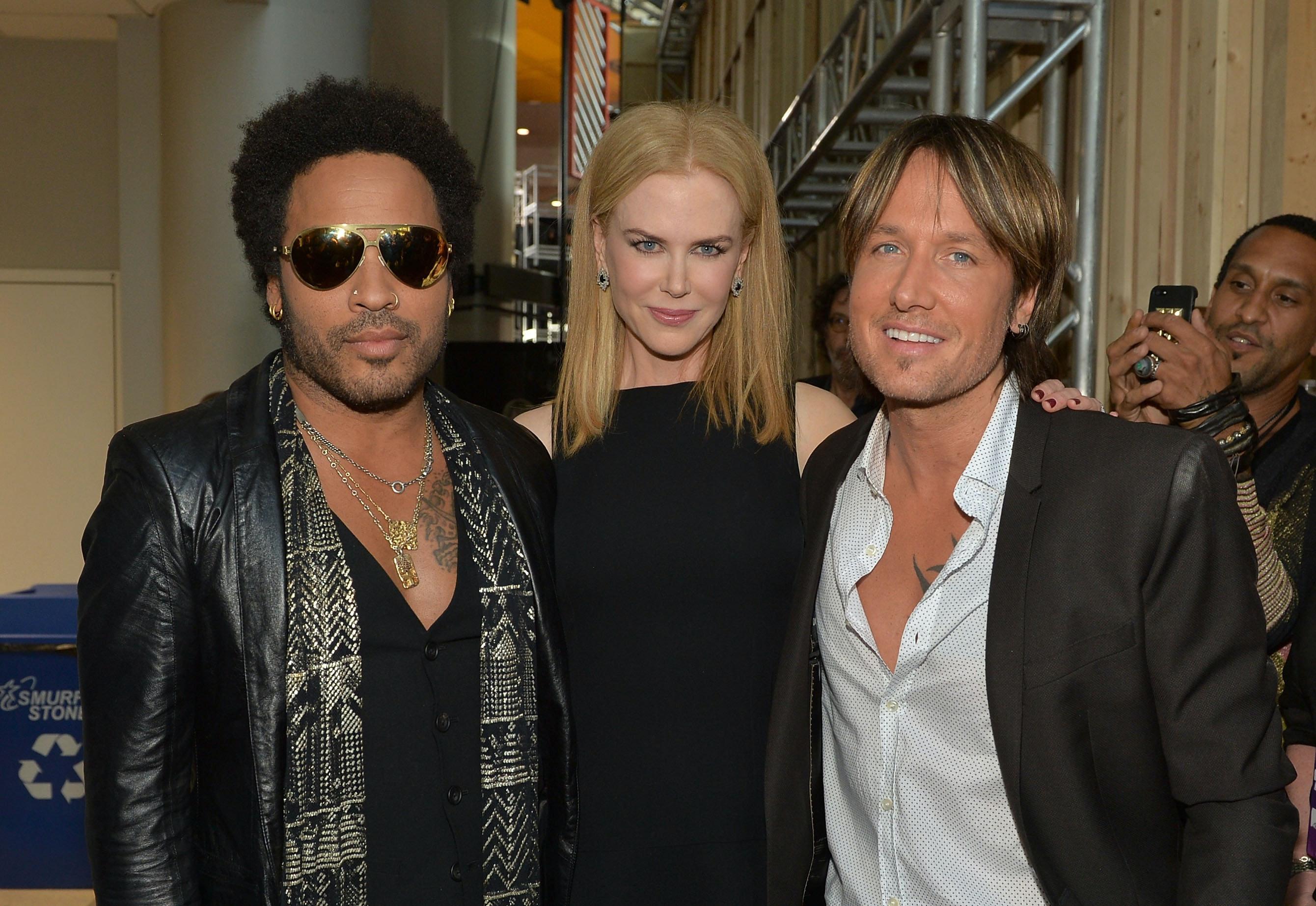 Nicole Kidman was once engaged to Lenny Kravitz