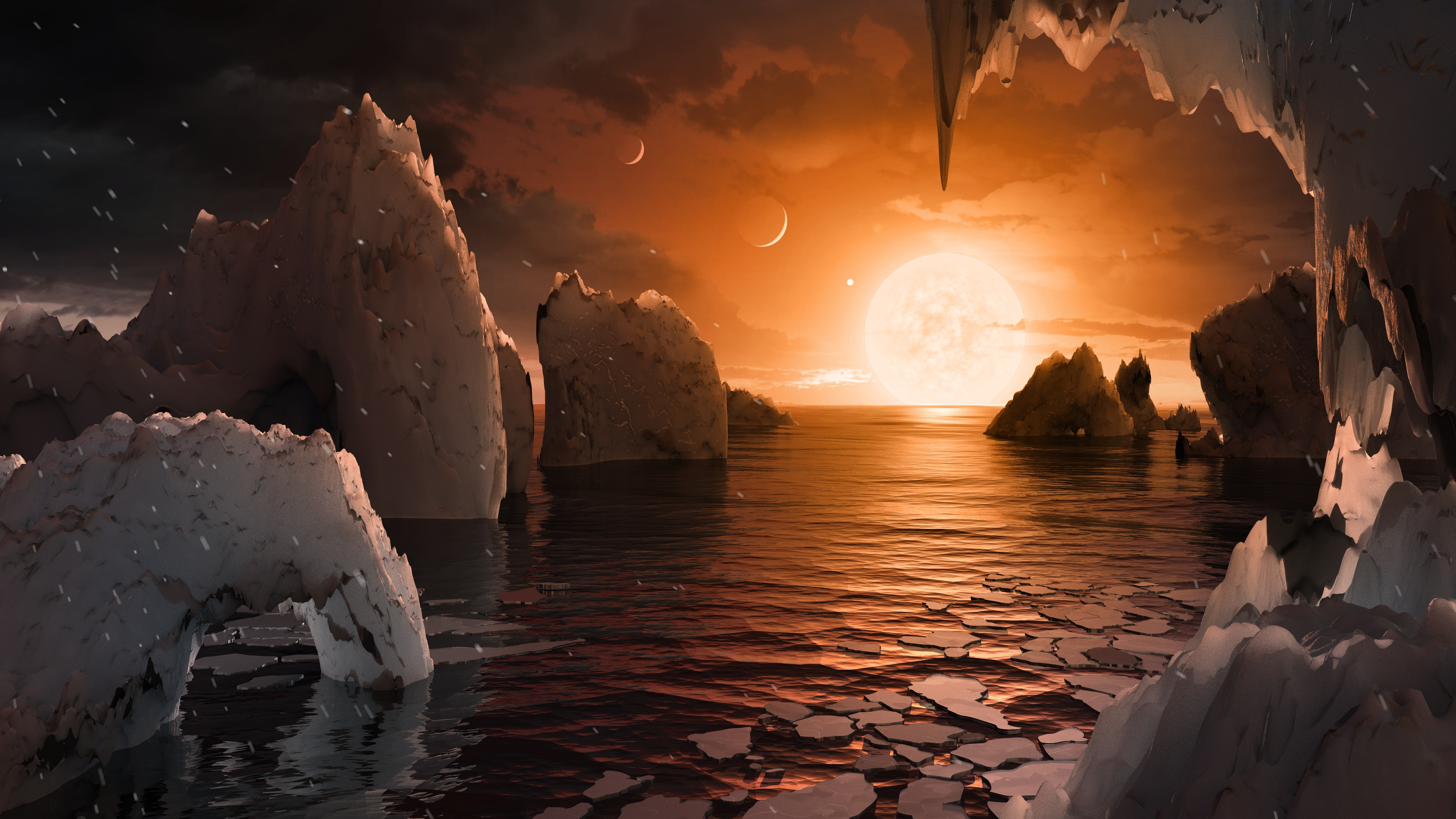 Discovery of Solar System & 7 Earth-Sized Planets — NASA Announcement Highlights
