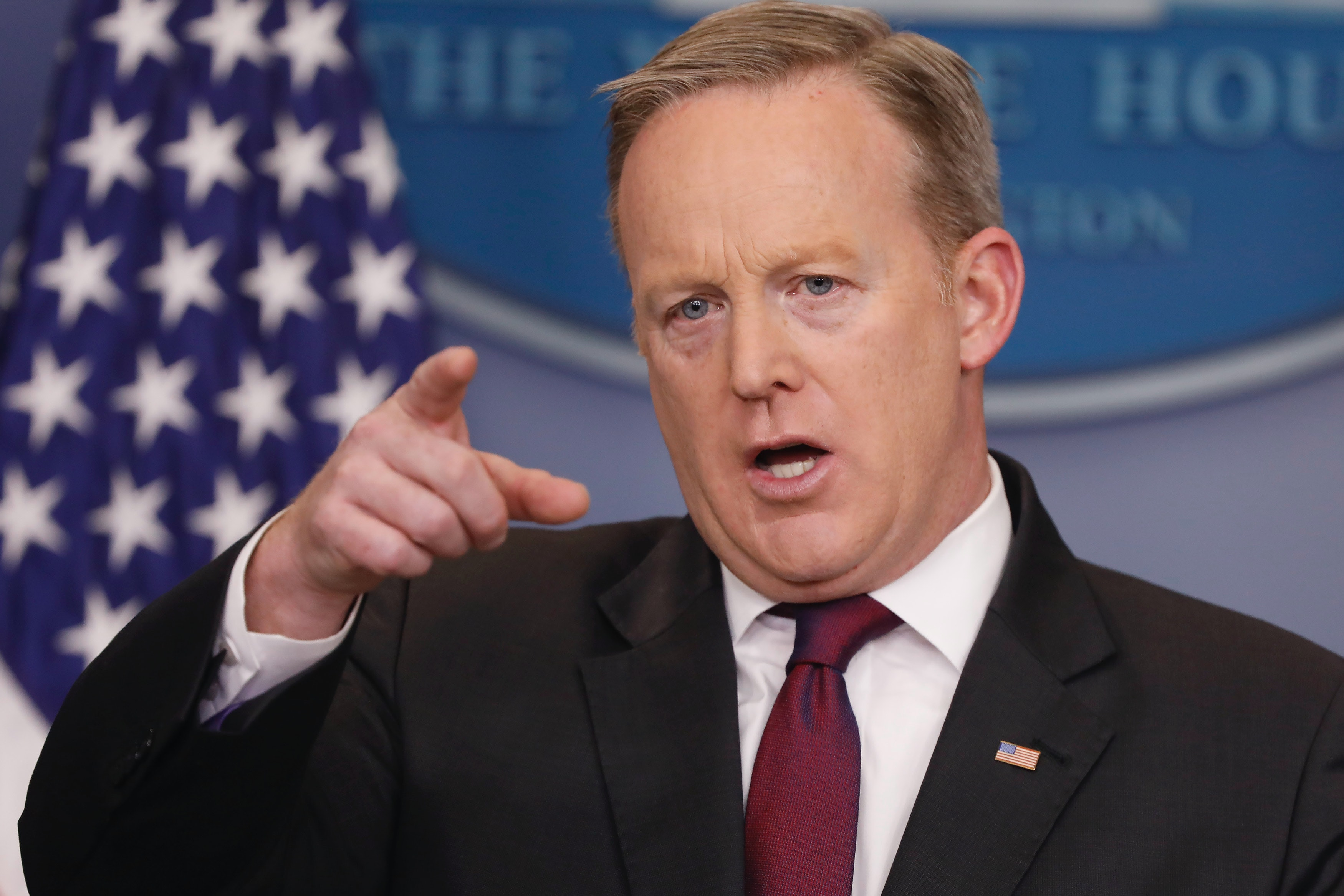 White House Bans Major News Outlets From Press Briefing