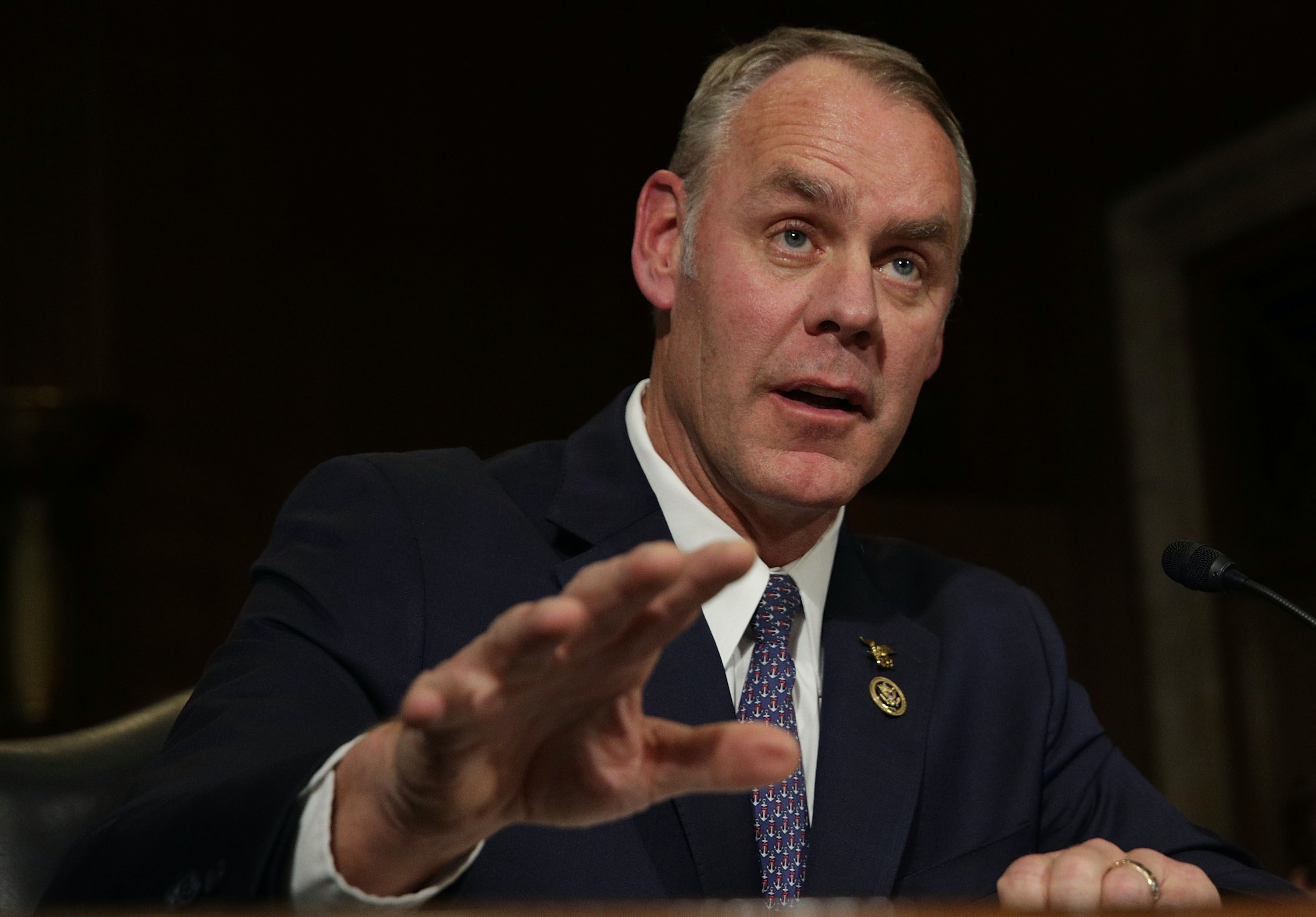 Senate approves Ryan Zinke as Interior secretary