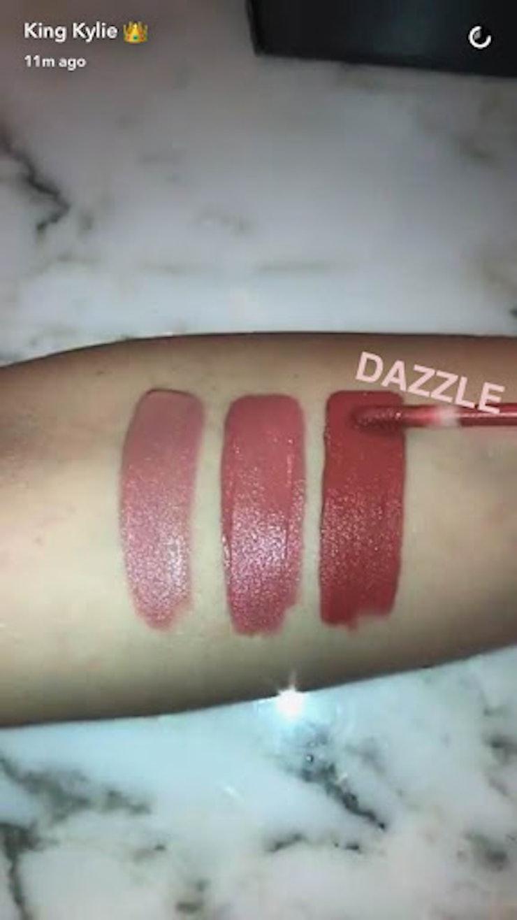 Kylie Cosmetics' Velvet Liquid Lip Kit Is The Latest