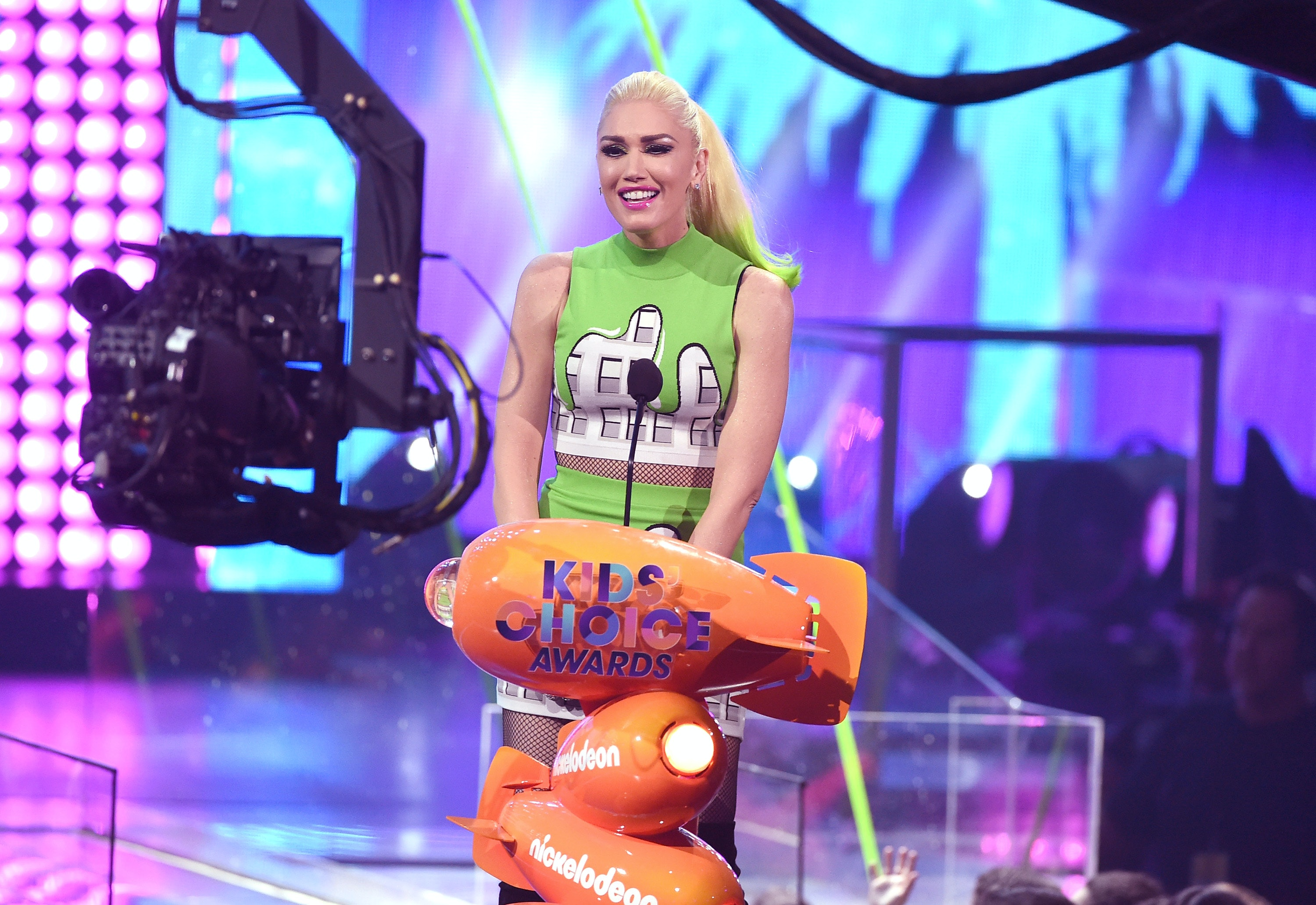 47-year-old Gwen Stefani is pregnant with her fourth child 08.09.2017