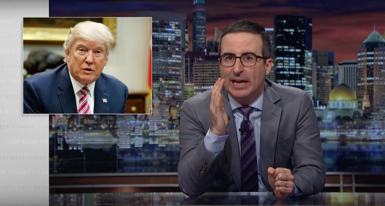 John Oliver on Trumpcare: 'the Ted Cruz of healthcare legislation'