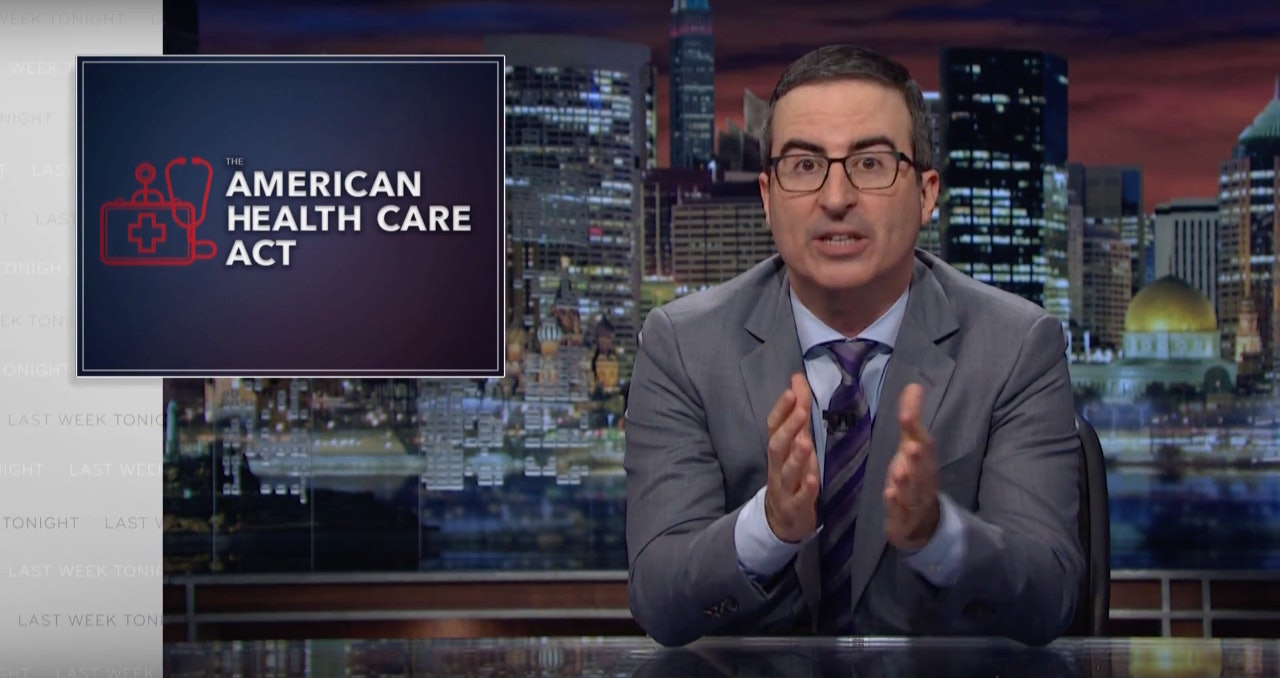 John Oliver Compares GOP Healthcare Plan to 'Pirates of the Caribbean' Sequel