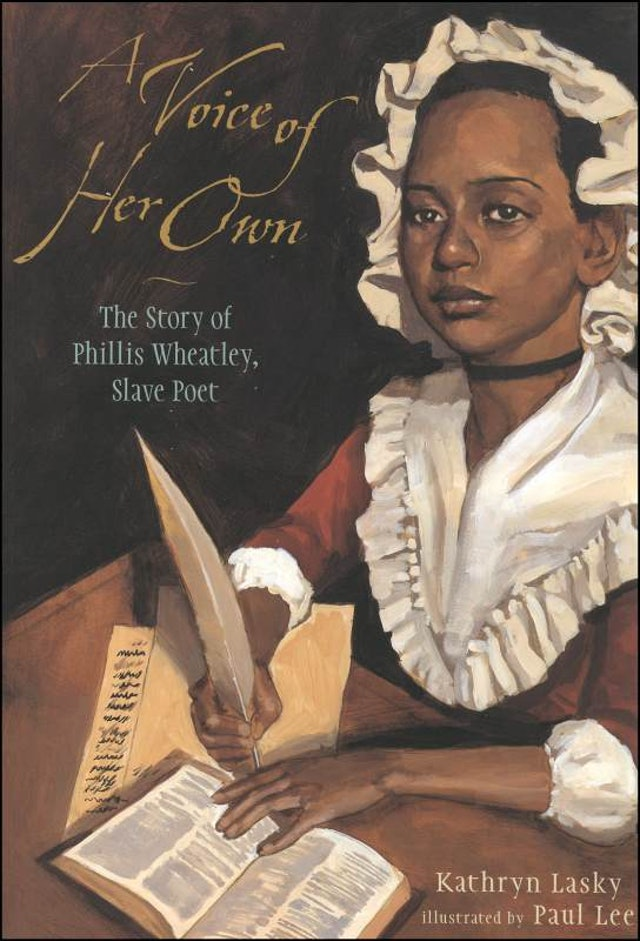account of the life and accomplishments of phillis wheatley Madison fill the shelves in the children's biography sections of public libraries  other figures are  a voice of her own: the story of phillis wheatley, slave  poet.